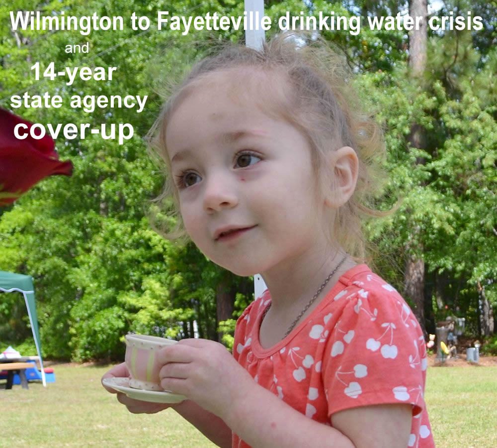 Chemours GenX, Dupont Fayetteville PFAS, NC DEQ cover-up 2019