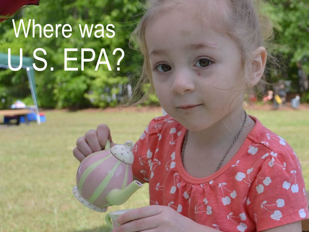 NC DEQ Coverup - Where was the U.S. EPA?