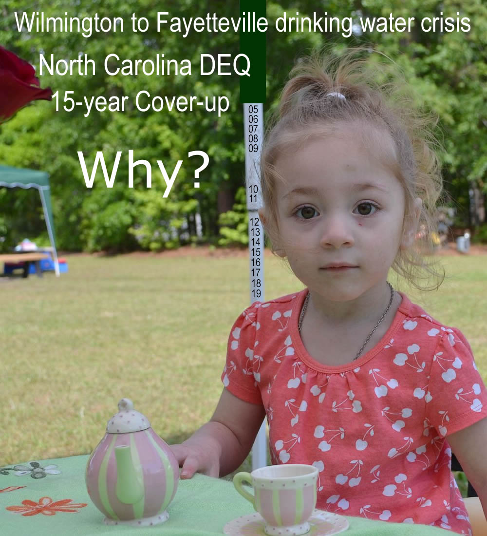 Dupont GenX chemicals - EPA and NC DEQ coverup - Why?